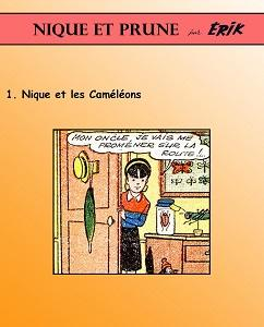 Nique et Prune - Tome 1 - Nique et les Cameleons