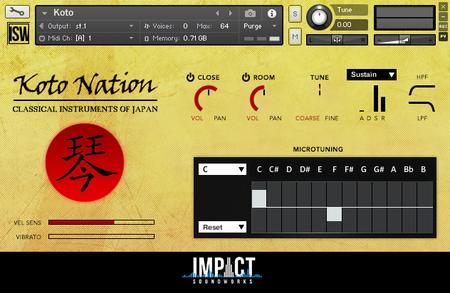 Impact Soundworks Koto Nation v2.0 KONTAKT