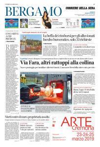 Corriere della Sera Bergamo - 22 Marzo 2019