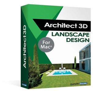 Avanquest Architect 3D Landscape Design 2017 Mac 19.0.8