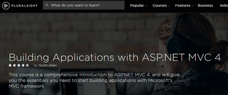 Building Applications with ASP.NET MVC 4 By Scott Allen [repost]
