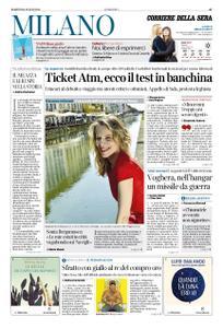Corriere della Sera Milano – 16 luglio 2019