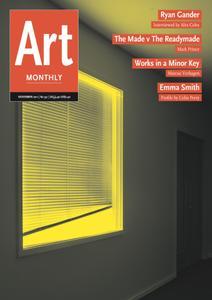 Art Monthly - November 2011   No 351