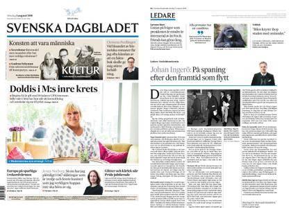 Svenska Dagbladet – 05 augusti 2018