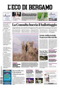L'Eco di Bergamo - 26 Gennaio 2017