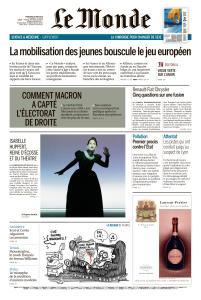 Le Monde du Mercredi 29 Mai 2019