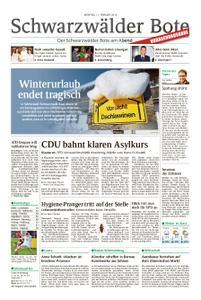 Schwarzwälder Bote Sulz - 11. Februar 2019