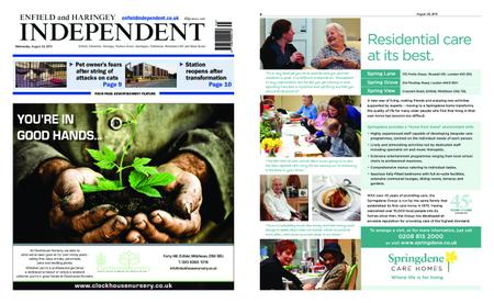 Enfield Independent – August 28, 2019