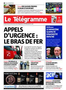 Le Télégramme Quimper – 19 octobre 2021