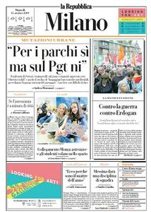 la Repubblica Milano - 15 Ottobre 2019