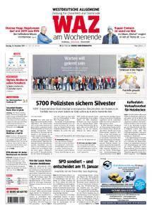 WAZ Westdeutsche Allgemeine Zeitung Oberhausen-Sterkrade - 16. Dezember 2017