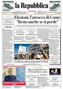 la Repubblica - 6 Settembre 2020