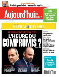 Aujourd'hui en France - 6 Janvier 2020