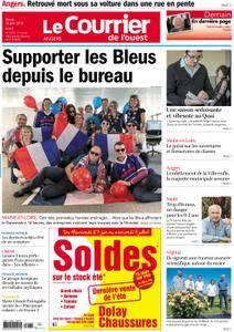 Le Courrier de l'Ouest Angers - 26 juin 2018