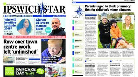 Ipswich Star – February 13, 2018