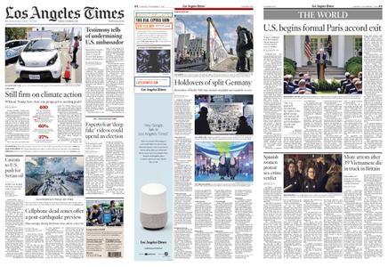 Los Angeles Times – November 05, 2019