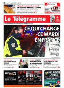 Le Télégramme Brest Abers Iroise – 15 décembre 2020