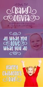 Baby Olivia Font