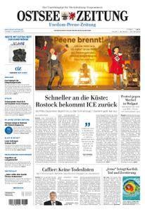 Ostsee Zeitung Wolgast - 08. September 2017