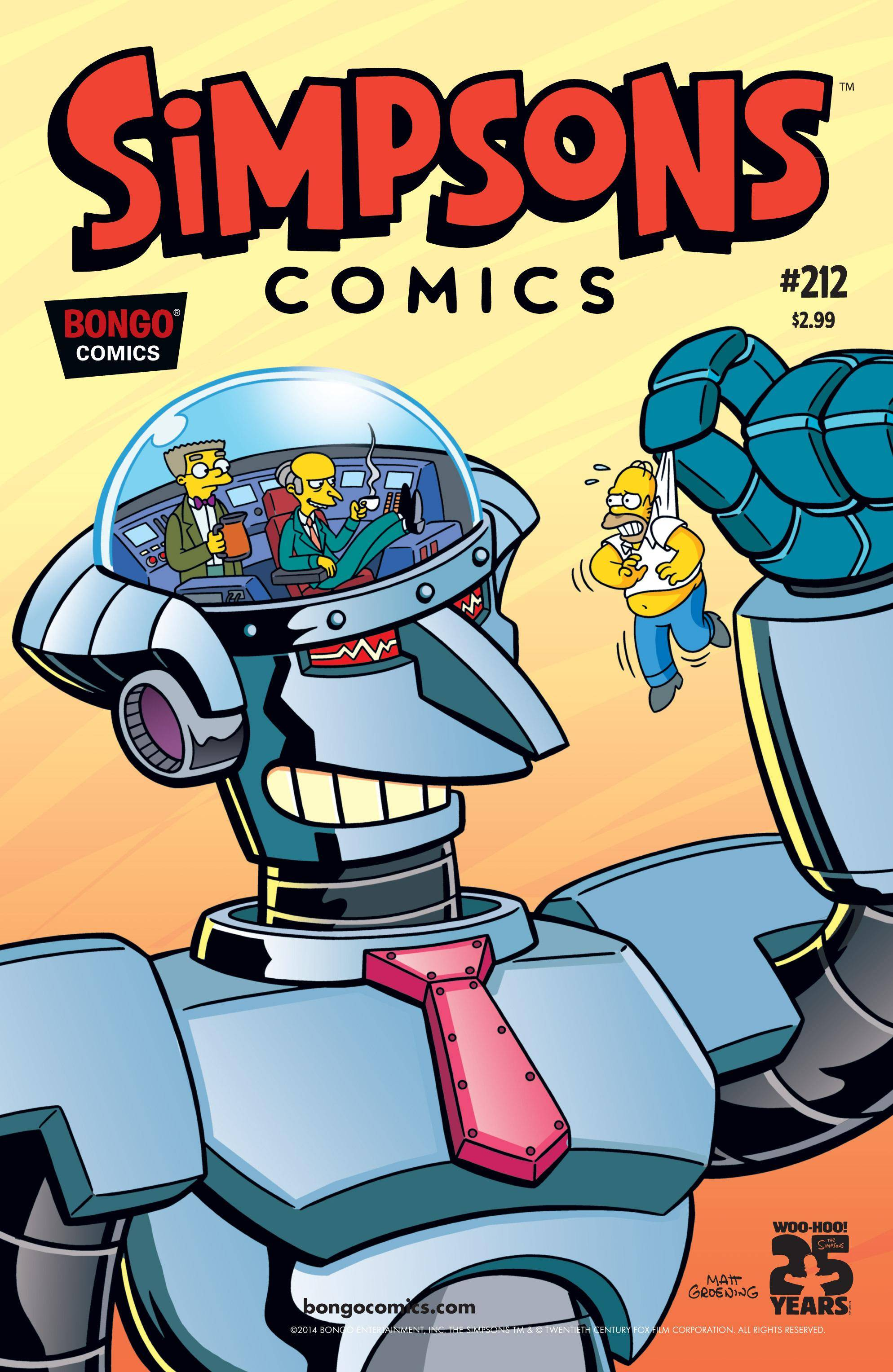 Simpsons Comics 212 2014 digital