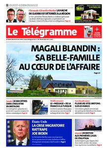 Le Télégramme Ouest Cornouaille – 23 mars 2021
