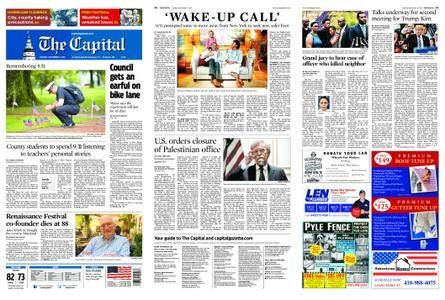The Capital – September 11, 2018