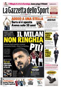La Gazzetta dello Sport Sicilia – 26 ottobre 2018