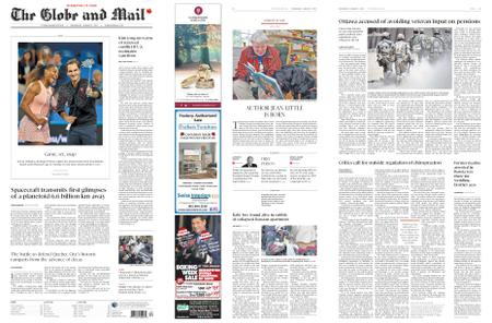The Globe and Mail – January 02, 2019