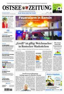 Ostsee Zeitung Wolgast - 27. Januar 2018
