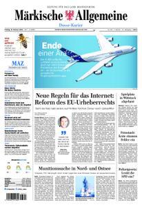 Märkische Allgemeine Dosse Kurier - 15. Februar 2019