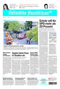 Kölnische Rundschau Wipperfürth/Lindlar – 11. August 2020