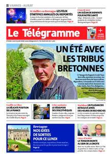 Le Télégramme Vannes – 13 juillet 2020