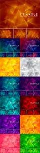 Vector Triangle Abstract Backgrounds