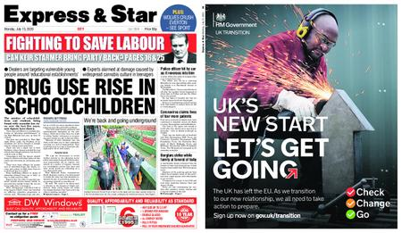 Express and Star City Edition – July 13, 2020