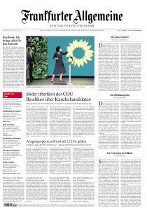 Frankfurter Allgemeine Zeitung - 20 April 2021