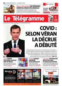 Le Télégramme Landerneau - Lesneven – 20 avril 2021