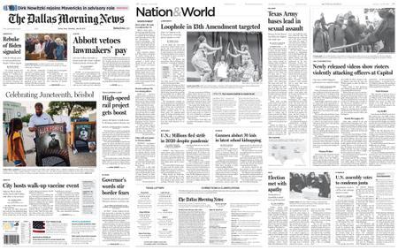 The Dallas Morning News – June 19, 2021