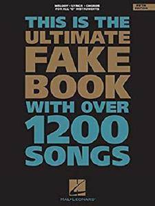 The Ultimate Fake Book for C Instruments