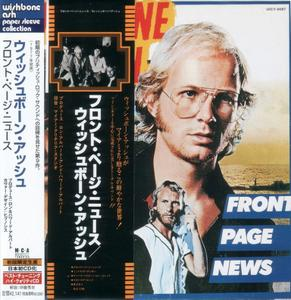 Wishbone Ash - Front Page News (1977) {2001, Japanese Limited Edition, Remastered} Repost / New Rip