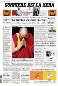 Corriere della Sera - 11 Agosto 2018