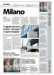 la Repubblica Milano - 30 Gennaio 2018