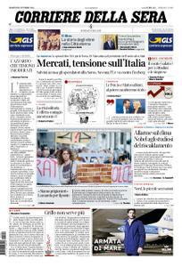 Corriere della Sera – 09 ottobre 2018
