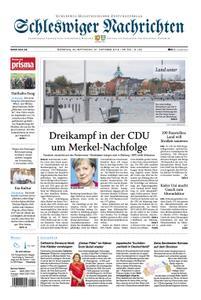 Schleswiger Nachrichten - 30. Oktober 2018