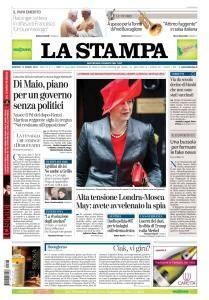 La Stampa Torino Provincia e Canavese - 13 Marzo 2018