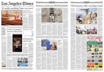 Los Angeles Times – April 11, 2020