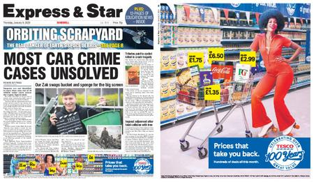 Express and Star Sandwell Edition – January 09, 2020