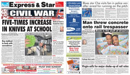 Express and Star Dudley and Wyre Forest Edition – April 24, 2019