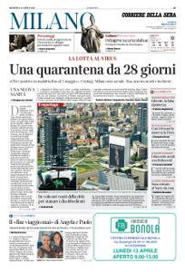 Corriere della Sera Milano – 12 aprile 2020