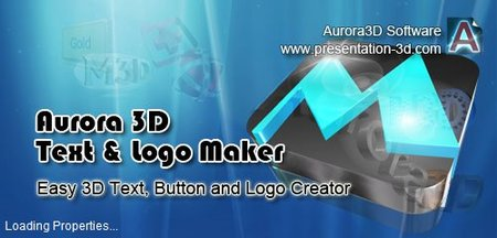 Aurora 3D Text and Logo Maker v16.01091110
