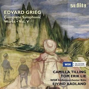 Camilla Tilling, Tom Erik Lie, Eivind Aadland - Grieg: Complete Symphonic Works Vol. V (2015) [Official Digital Download 24/48]